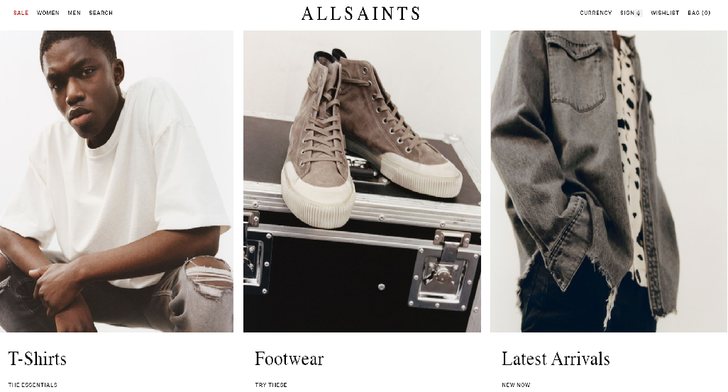 ALLSAINTS: Shop the men's and women's ready to wear collection.