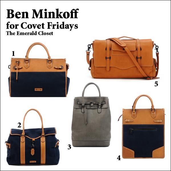REBECCA MINKOFF & BEN MINKOFF: Rebecca Minkoff brand personifies the elegant woman, the men's Ben Minkoff range represents the dapper, debonair gentleman