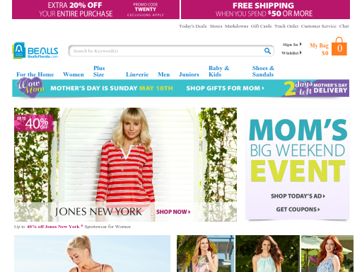 Bealls Florida: Shop Bealls Florida online & in-store. Free Shipping $75+ or Free Ship To Store. Shop clothing, home, shoes, swimwear, and more