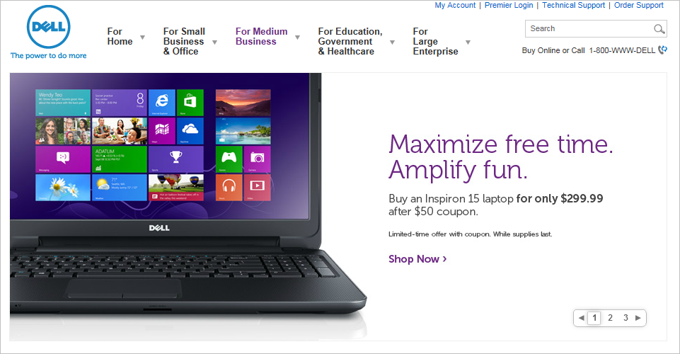 DELL: Love Your Tech Without Worrying About Price w/ Dell Price Match Guarantee + Free Shipping!