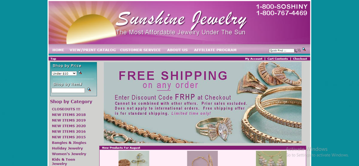 SUNSHINE JEWELRY: Selection for the very best in unique or custom, handmade pieces from our pendants shops.