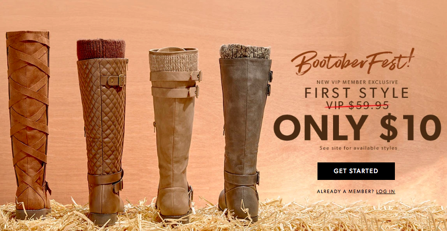 JUSTFAB: Women's Shoes, Boots, Handbags & Clothing Online