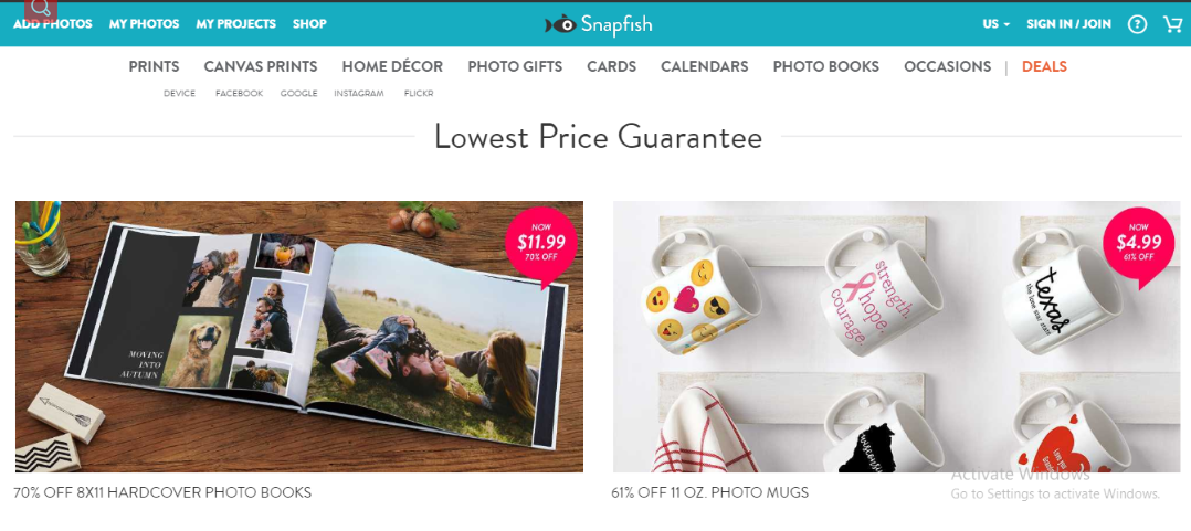 SNAPFISH: Digital photo printing service helps you print pictures, create photo canvas prints, customize photo books, mugs, greeting cards