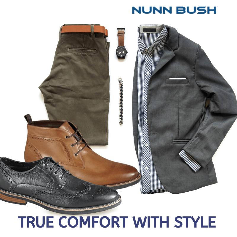 NUNNBUSH: Shop Nunn Bush men's dress shoes, casual shoes, sandals, boots, all-terrain shoes