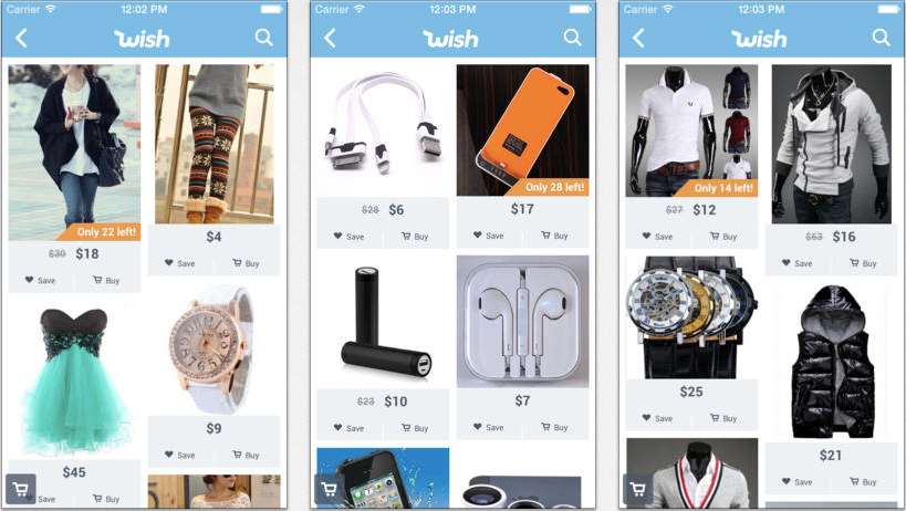 WISH: Shopping Made Fun. Join over 500 million others that have made their shopping more smart, fun, and rewarding.