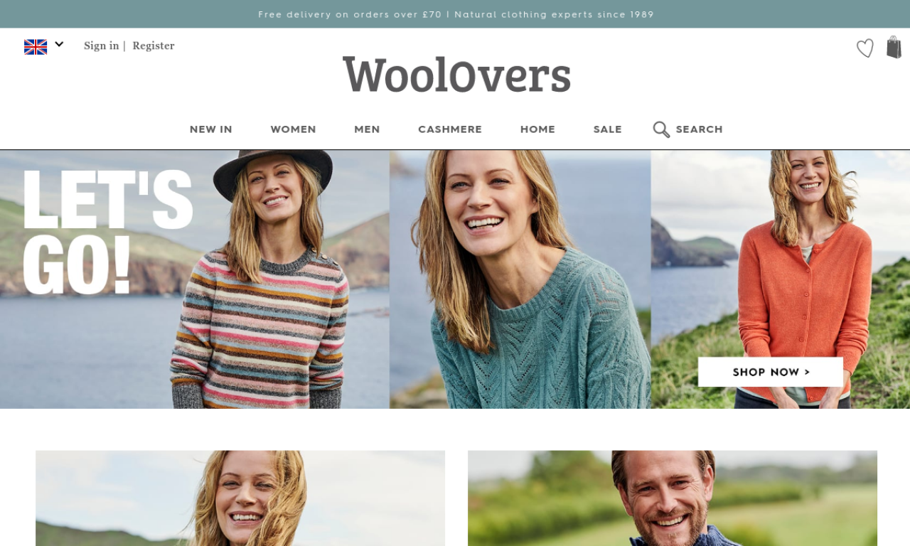 WoolOvers:  supplies women's and mens Wool, Cashmere & Cotton Knitwear. We also offer a great range of ladies' silk and cotton jumpers, cardigans …