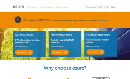 ESURE CAR INSURANCE: Car insurance, home insurance & travel insurance from esure. Find out more here and get an insurance quote online!