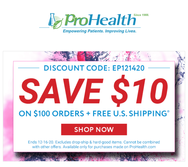PROHEALTH: Vitamin Store – Supplements and Herbs