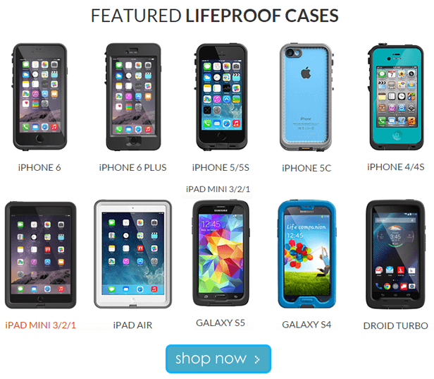 LIFEPROOF: Get protection that inspires confidence with authentic LifeProof smartphone and tablet cases