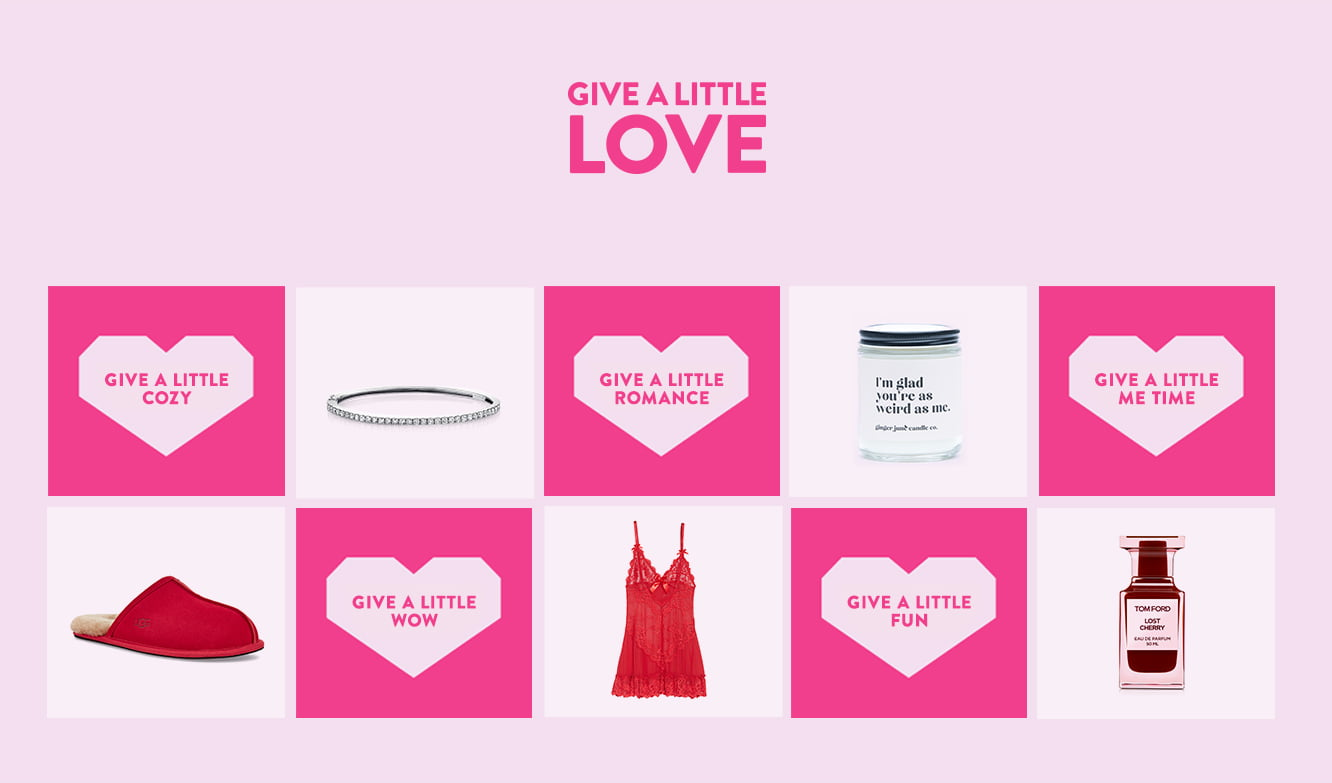 NORDSTROM: Valentine's Day Coming – Give A Little Love with A Little Romance