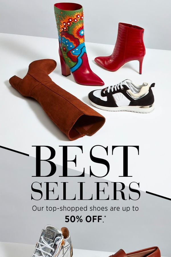SAKS OFF 5TH: Up to 50% OFF best-selling shoes