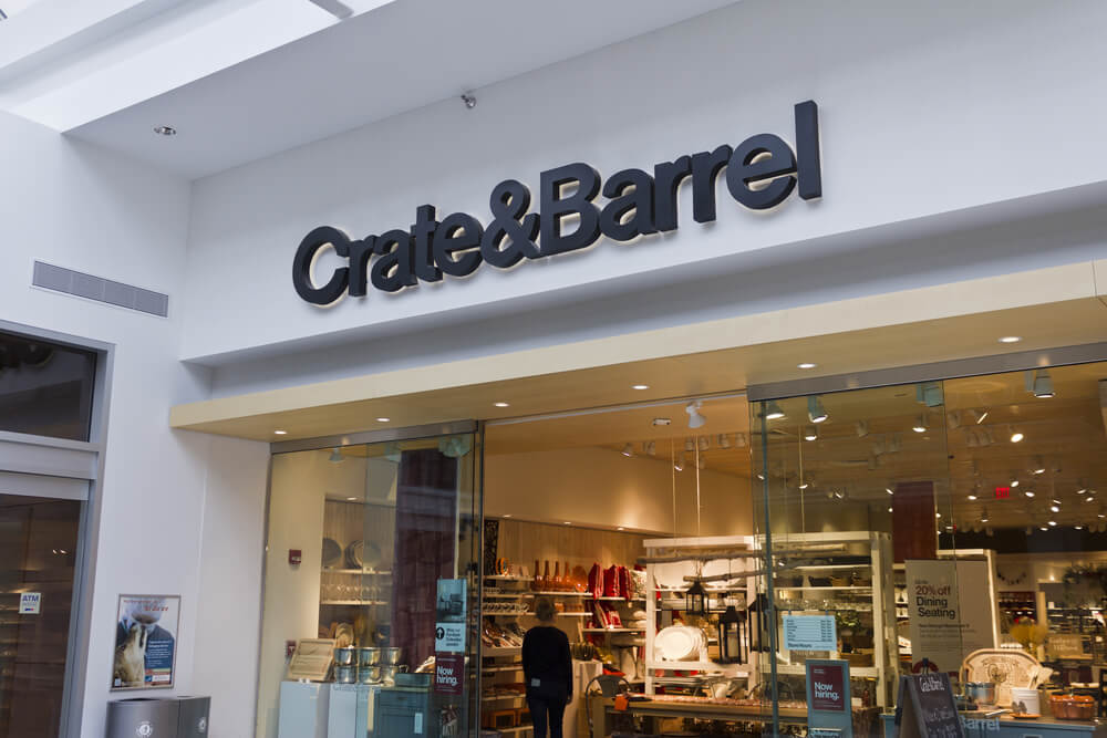 Crate&Barrel :  Up to 30% off The Bedding & Bath Sale