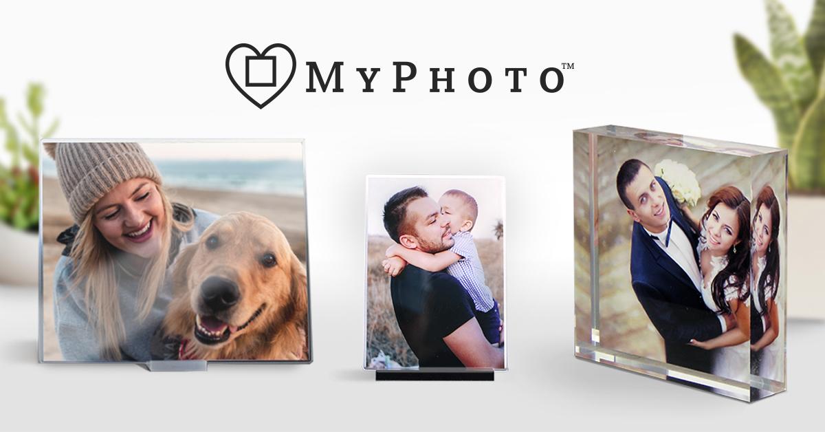 MYPHOTO: Personalized Acrylic, Wood & Metal Photo Gifts & Decor