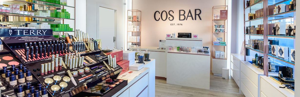 COSBAR: Cos Bar is a luxury cosmetics and skincare boutique. They specialize in the world's best beauty brands to deliver the highest quality products