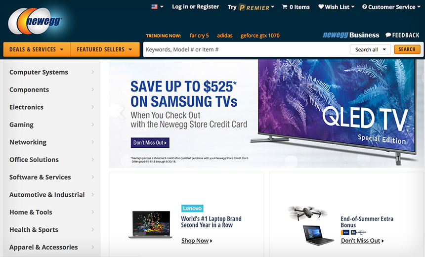 NEWEGG: Offers the best prices on computer products, laptop computers, LED LCD TVs, digital cameras, electronics, unlocked phones, office supplies