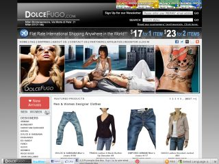 DOLCEFUGO: Leading online retail store for men's & women's designer clothes shoes in many varieties.