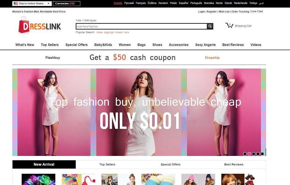 DRESSLINK: Discover the latest high quality Clothing, Shoes, Bags, tops, jewelry, Accessories.