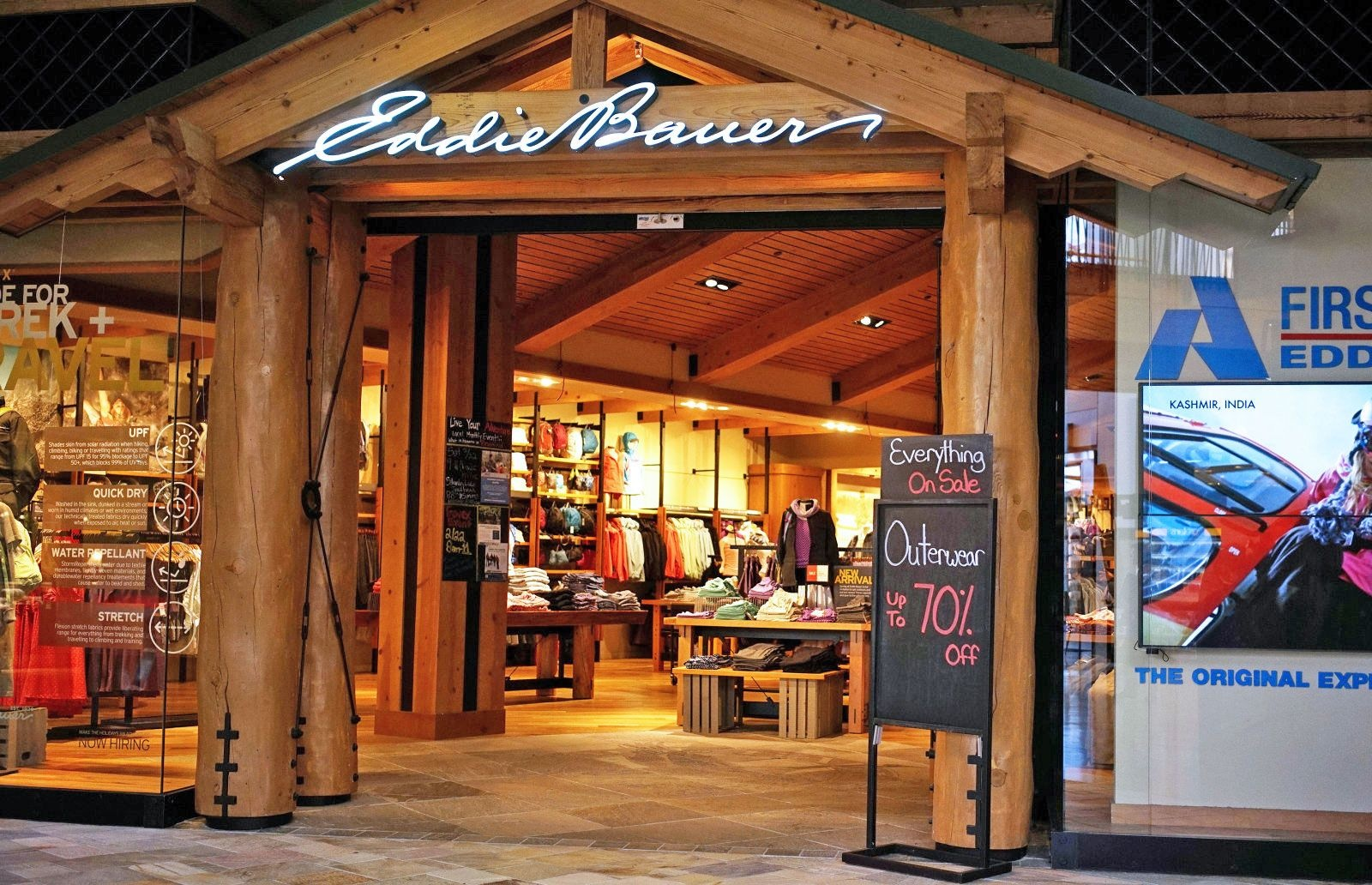 EDDIE BAUER: For over 100 years, Eddie Bauer has made apparel, footwear, and gear to inspire and enable you to Live Your Adventure