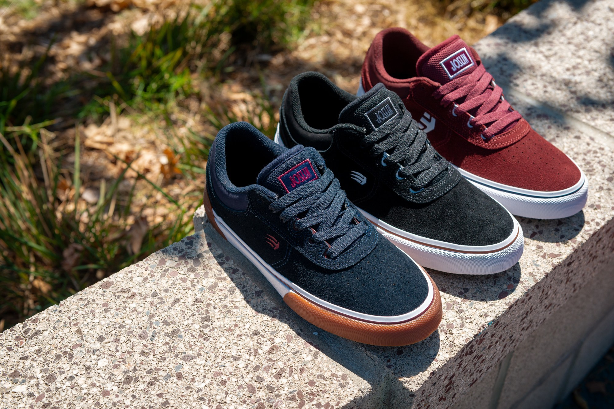 ETNIES: Footwear & apparel built by skateboarders to withstand the toughest conditions of skateboarding.