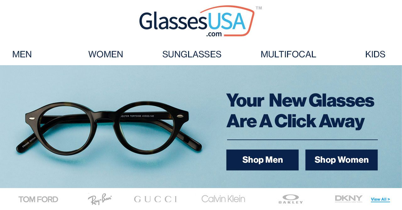 GLASSESUSA: Shop eyeglasses sunglasses & contacts. Choose from 7000+ styles starting at $19 + FREE shipping and …