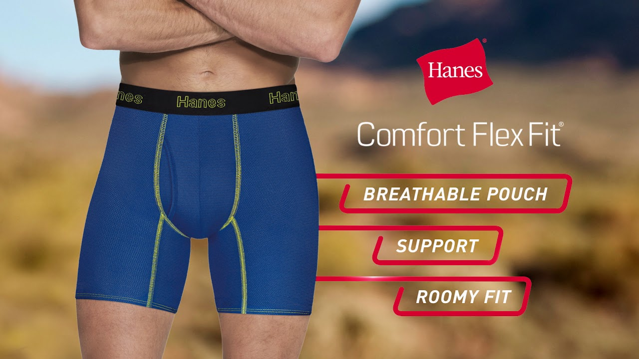 HANES UNDERWEAR: Shop mens underwear for a wide variety of comfortable boxers, boxer briefs, socks and more! Free shipping included with online orders over $40.