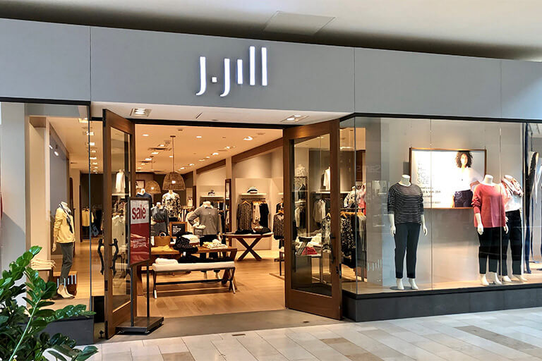 J.JILL: offers unique and fashionable women's apparel, accessories, and footwear. Clothing available in misses, petite, tall, and plus sizes.