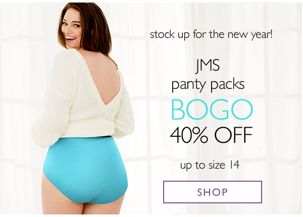 JUSTMYSIZE: Up to 50% off Panty Packs