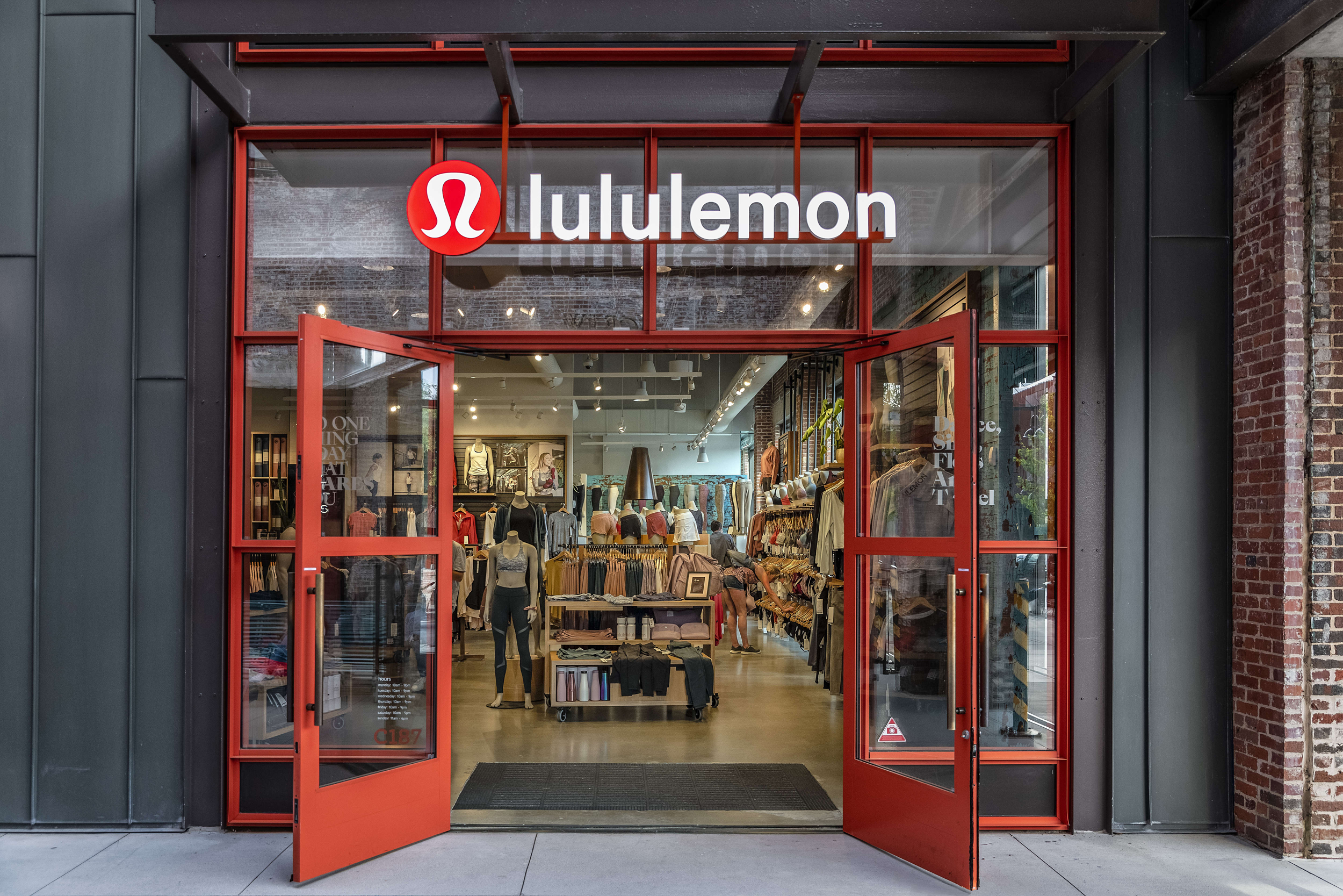 LULULEMON: makes technical athletic clothes for yoga, running, working out, and most other sweaty pursuits. As always, shipping is free.