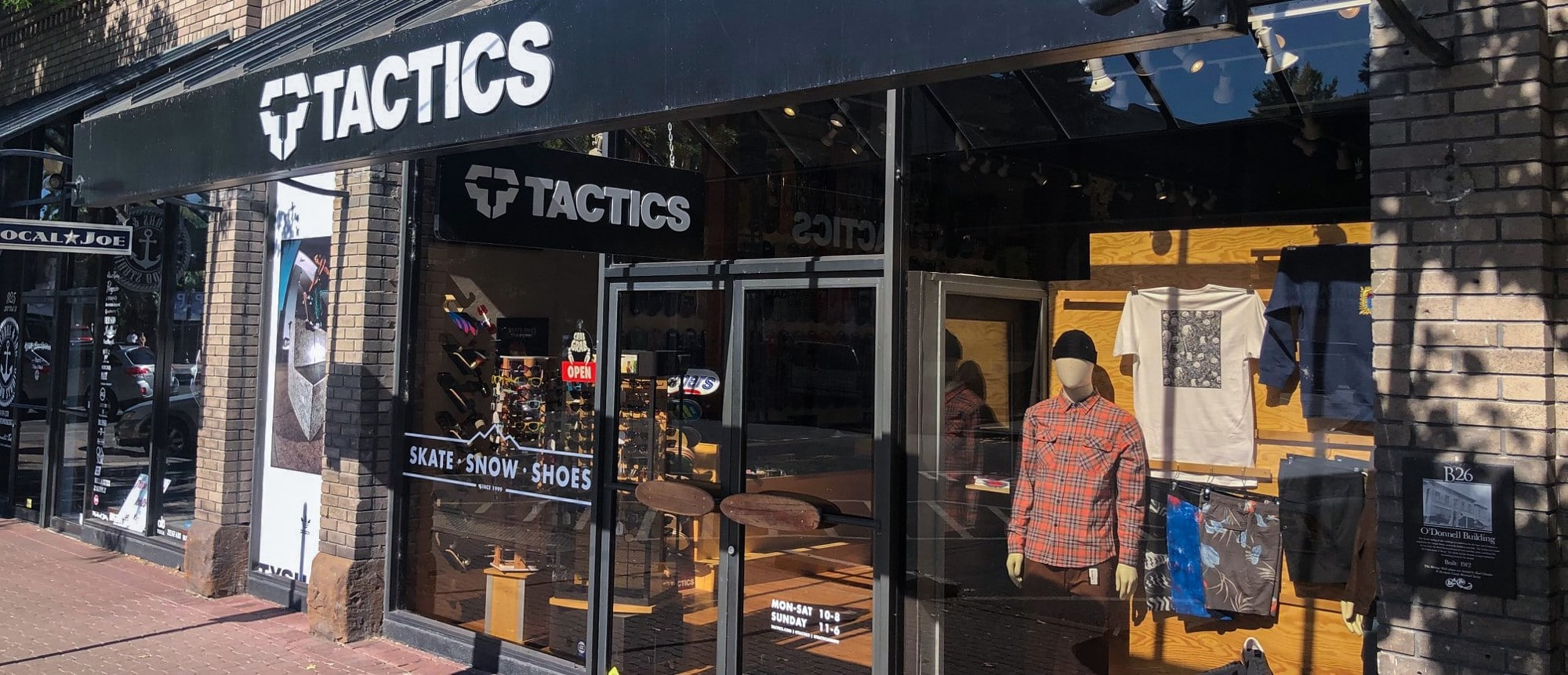 TACTICS: For skatepark or terrain park, shop the latest boards, footwear and clothing