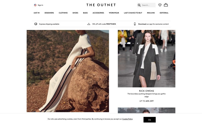 THE OUTNET: With 350+ luxury designer fashion brands at exceptional prices, shopping at THE OUTNET is guaranteed to take your style to the next level!