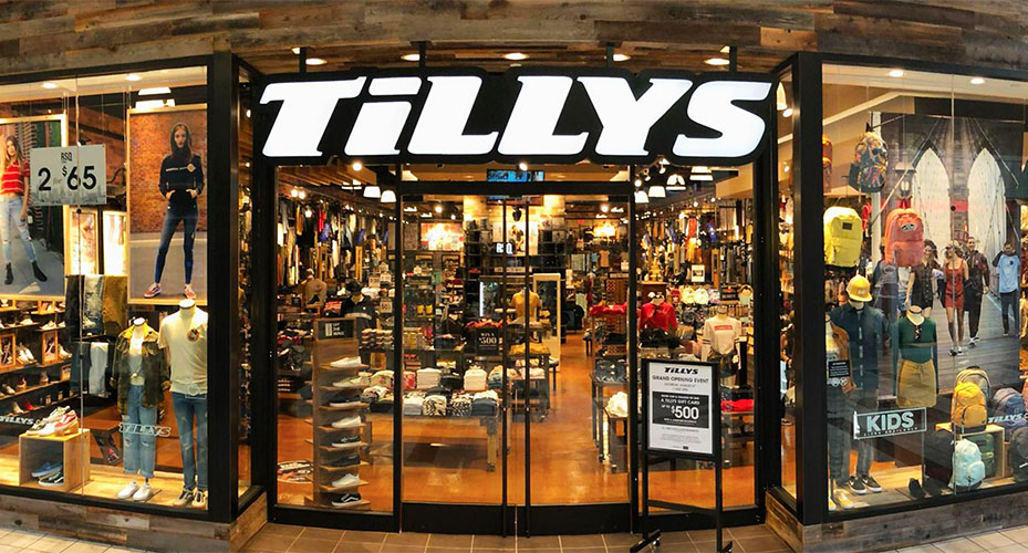 TILLY'S:  $1 SHIPPING on orders over $49