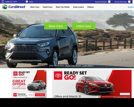 CARS DIRECT: Research new car prices and deals with exclusive buying advice at CarsDirect.com.