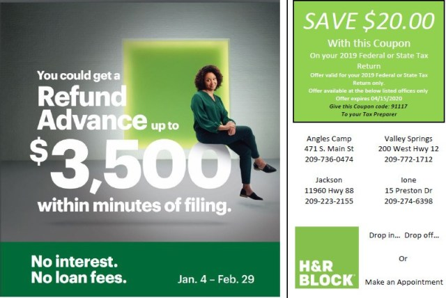 H&R BLOCK: Start tax prep seamlessly, connect virtually with a tax pro, explore mobile banking, and plan for next year. It's easy. Create an account.