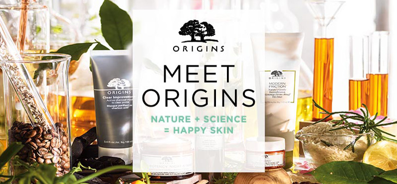 ORIGINS: Receive A Free AM And PM Moisturizer Duo With $45. Shop Now!