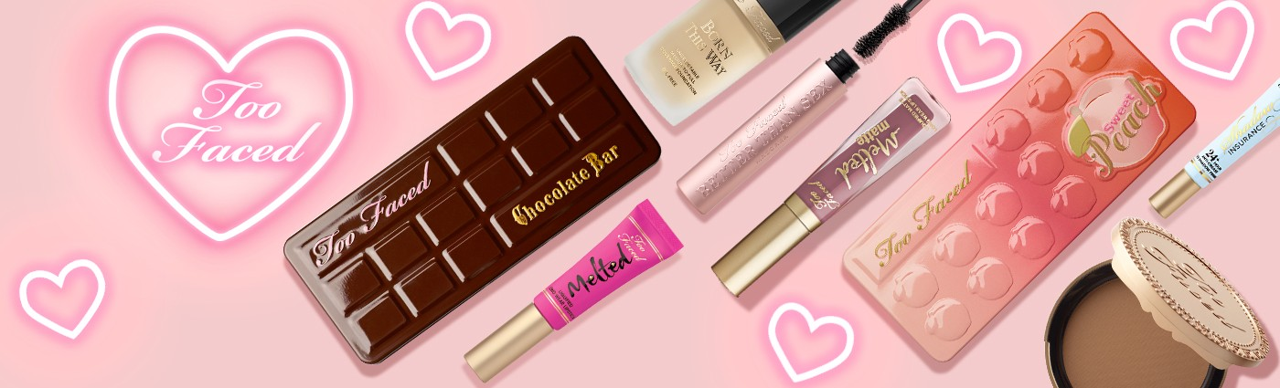 TOO FACED: Innovative makeup and beauty products from Too Faced Cosmetics. Find trendsetting cruelty-free makeup and tips on how to apply our top-selling products for …