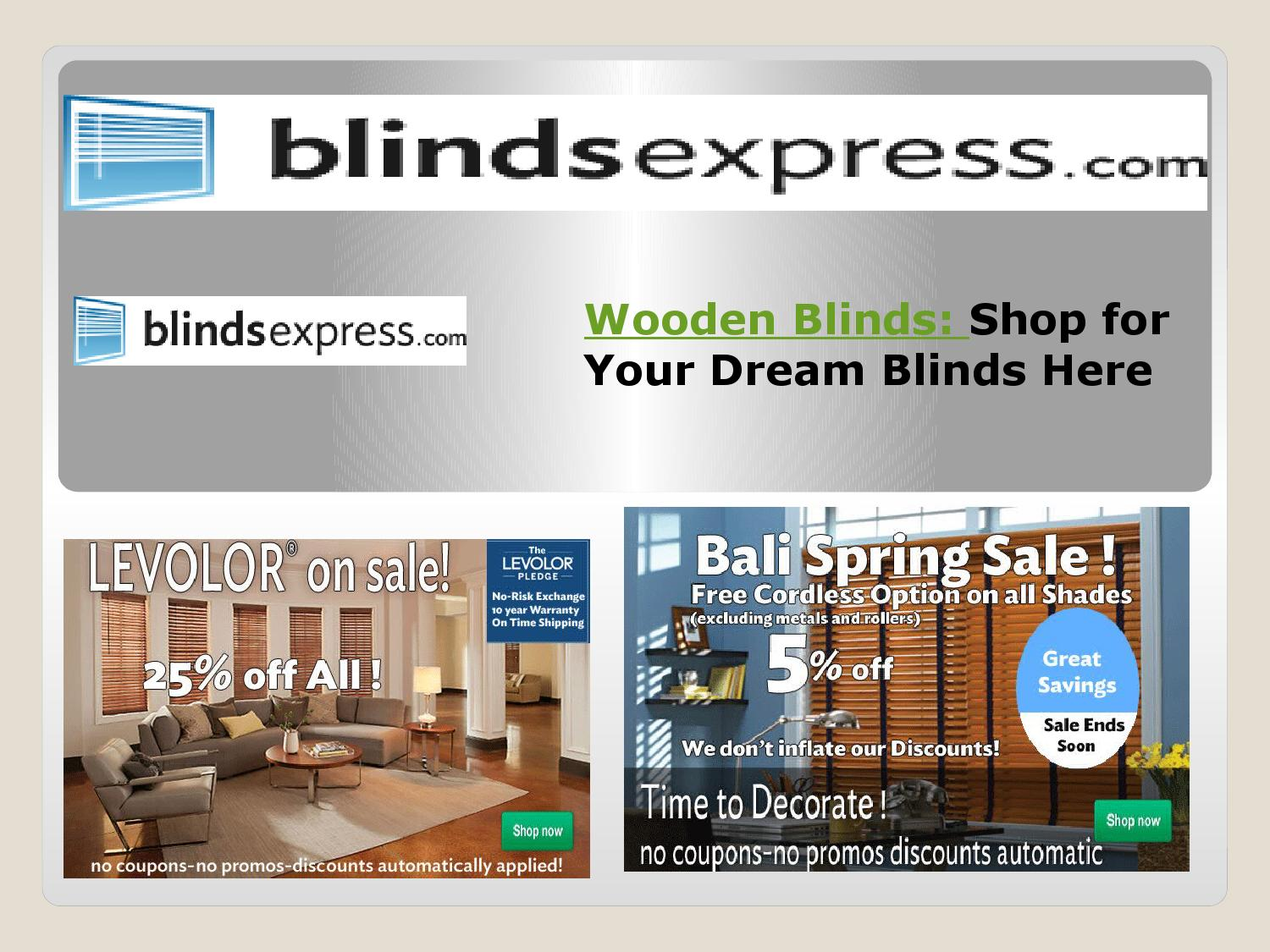 BLINDSEXPRESS: Sales of blinds, window Blinds, and more at Blindsexpress.com, we carry anything and everything blinds.