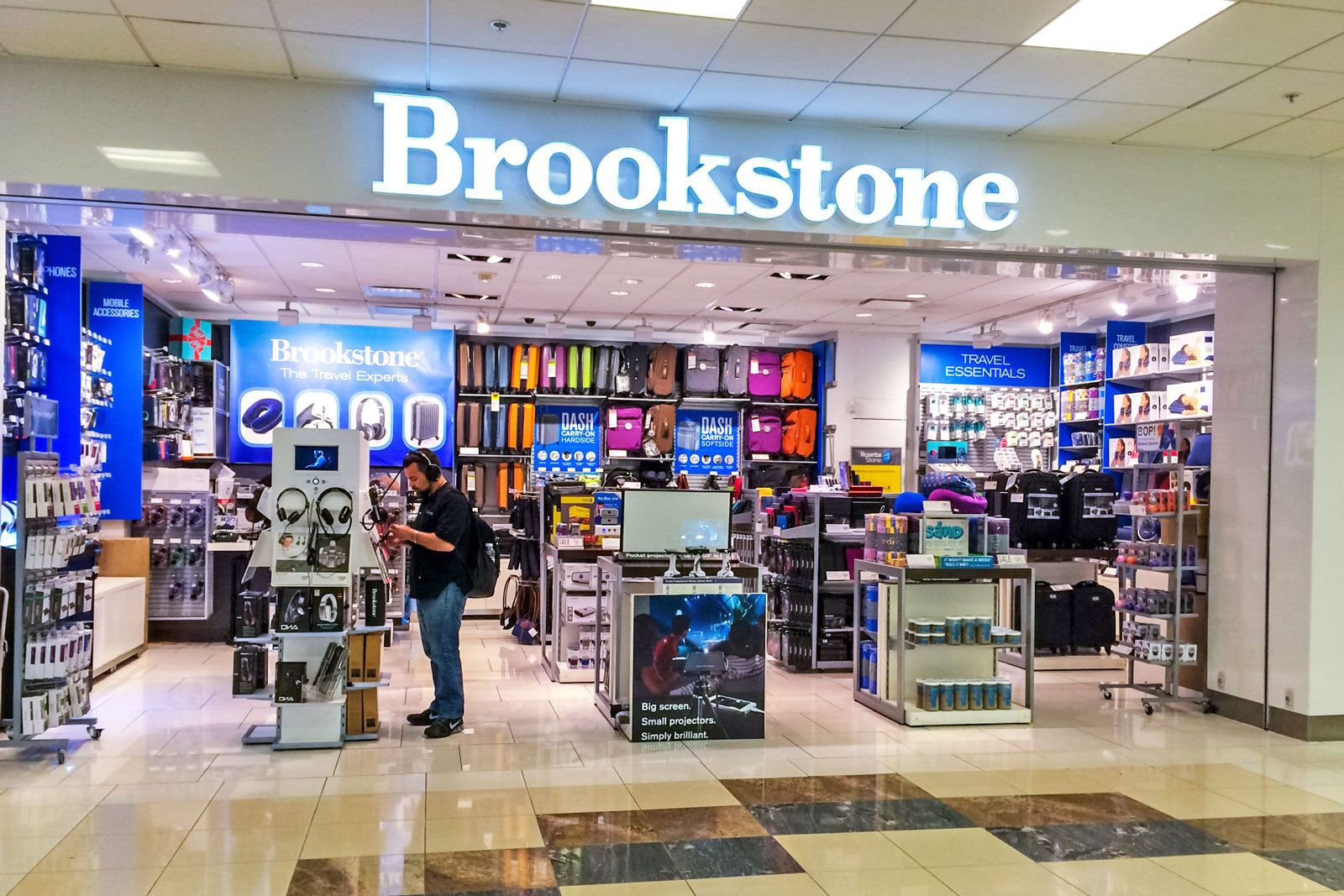 BROOKSTONE: Your one-stop destination for the very best new products in massage & personal care, home, travel, gifts, and more