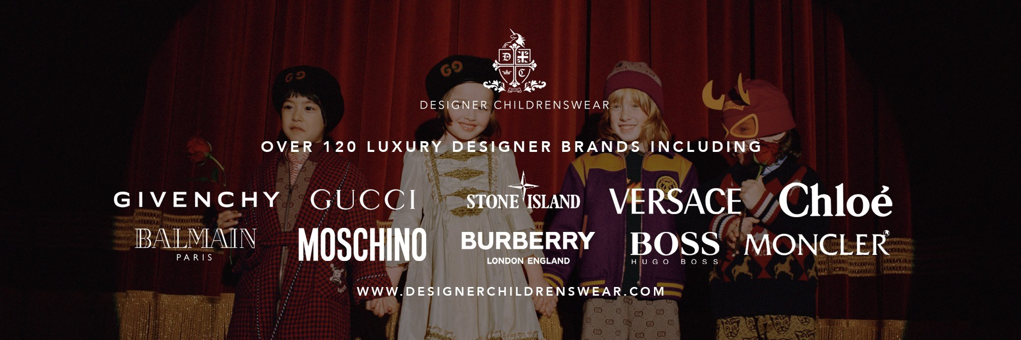 DESIGNERCHILDRENSWEAR: Have a range of children's and baby clothing from a wide selection of the worlds luxury brands