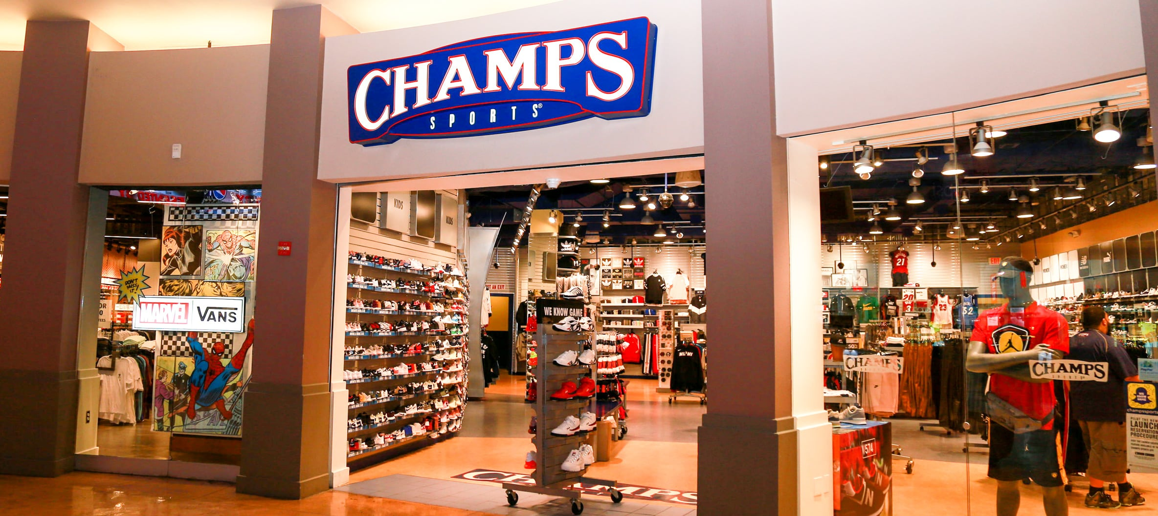 CHAMPS SPORTS: Get your head-to-toe hook up on the latest shoes and clothing from Jordan, Nike, adidas, and more. Free shipping for FLX members.