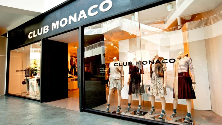CLUB MONACO: Offers chic and stylish men's and women's clothing