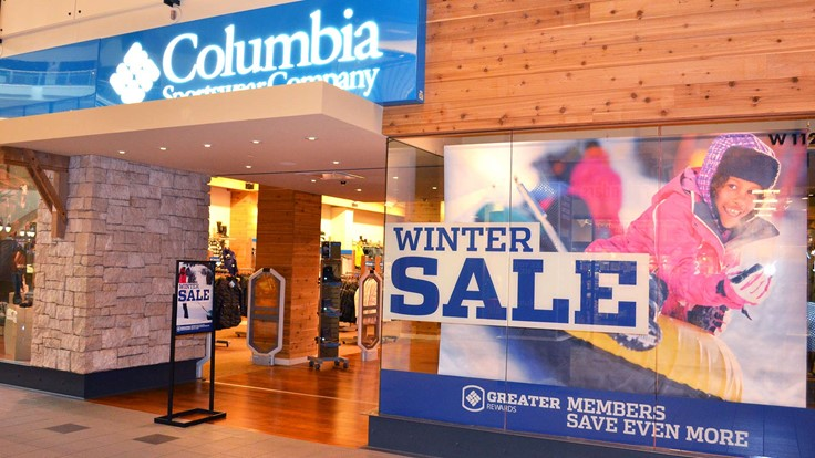 COLUMBIA SPORTSWEAR: Select gear 40% off during our Winter Sale. Now is the time to get those Columbia jackets, pants, shoes and gear you've been needing.