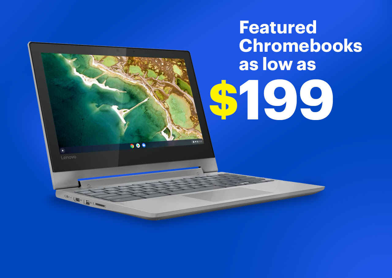 Best Buy: Featured Chromebooks as low as $199