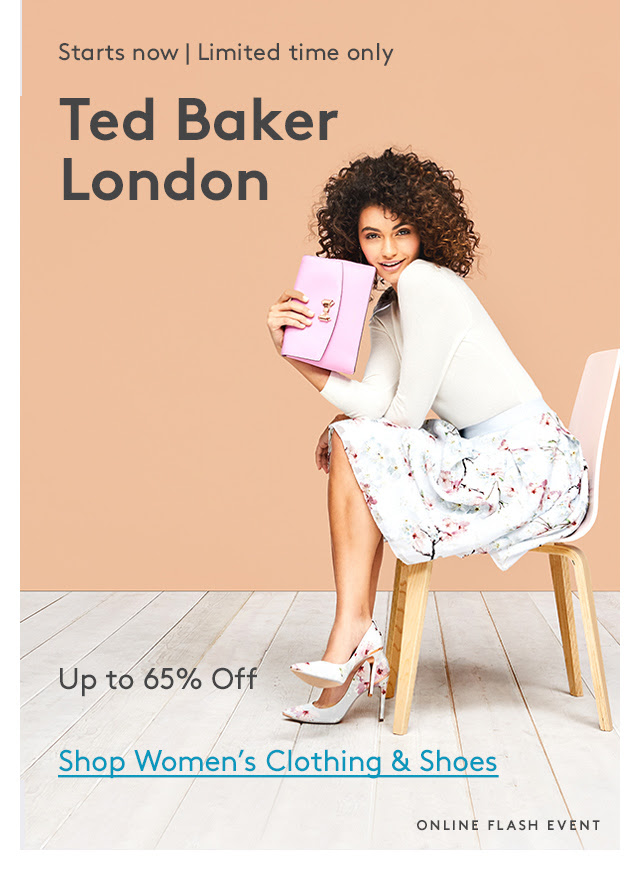 NORDSTROMRACK : The Ted Baker London Event up to 65% off