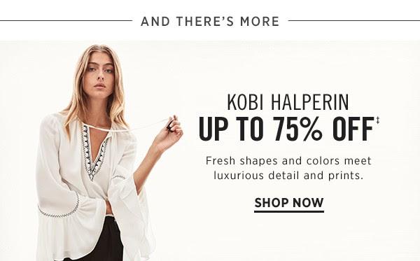 SAKS OFF 5TH: Kobi Halperin Up to 75% off