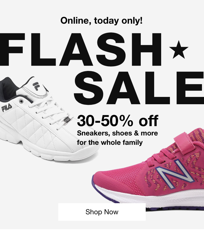 MACY'S: Flash Sale—today only! 30-50% off