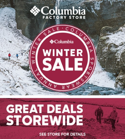 COLUMBIA: Winter Super Sale Up to 40% off