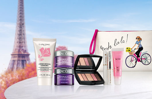 LANCOME: Enjoy a 7-piece gift on orders $45+
