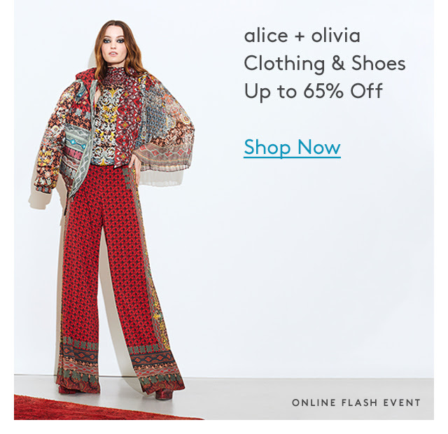 The John Hardy & alice + olivia Events start now up to 65% off