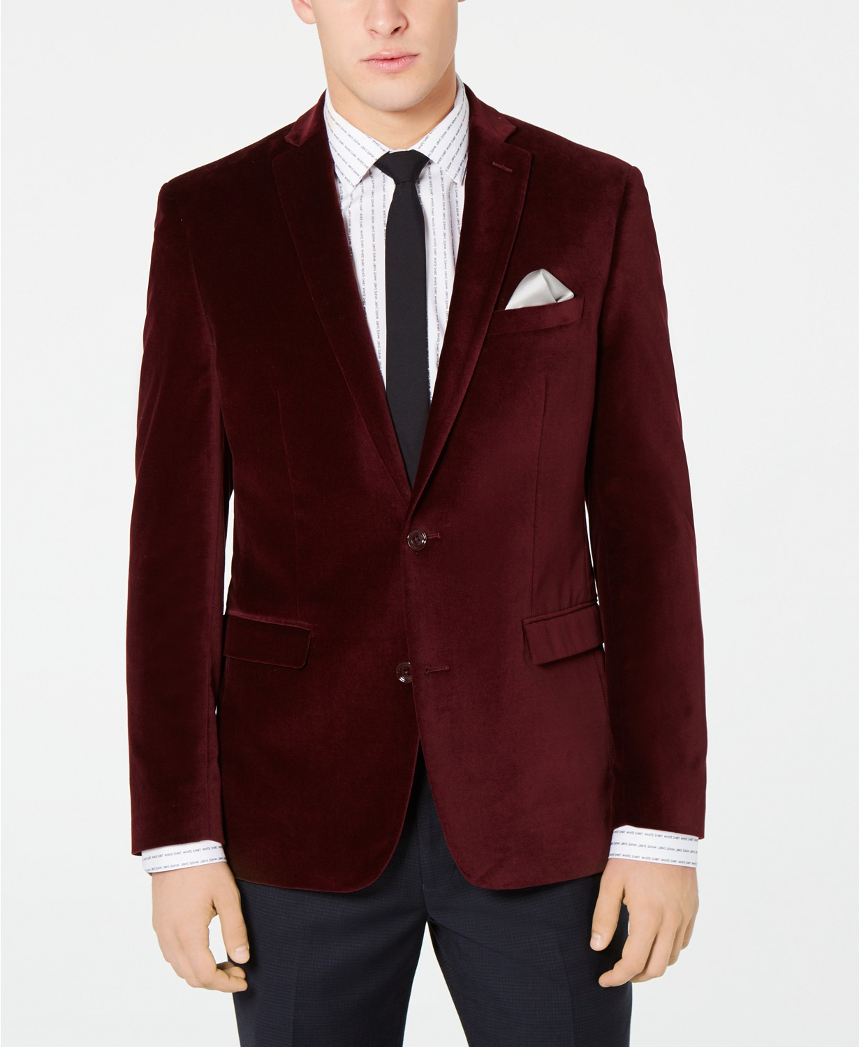 MACY'S: Velvet Slim-Fit Sport Coat $29.99