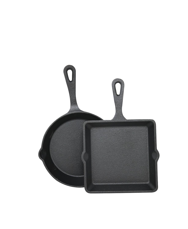 MACY'S: Cast Iron 2-Pc. Mini Skillet & Griddle Set $8.99